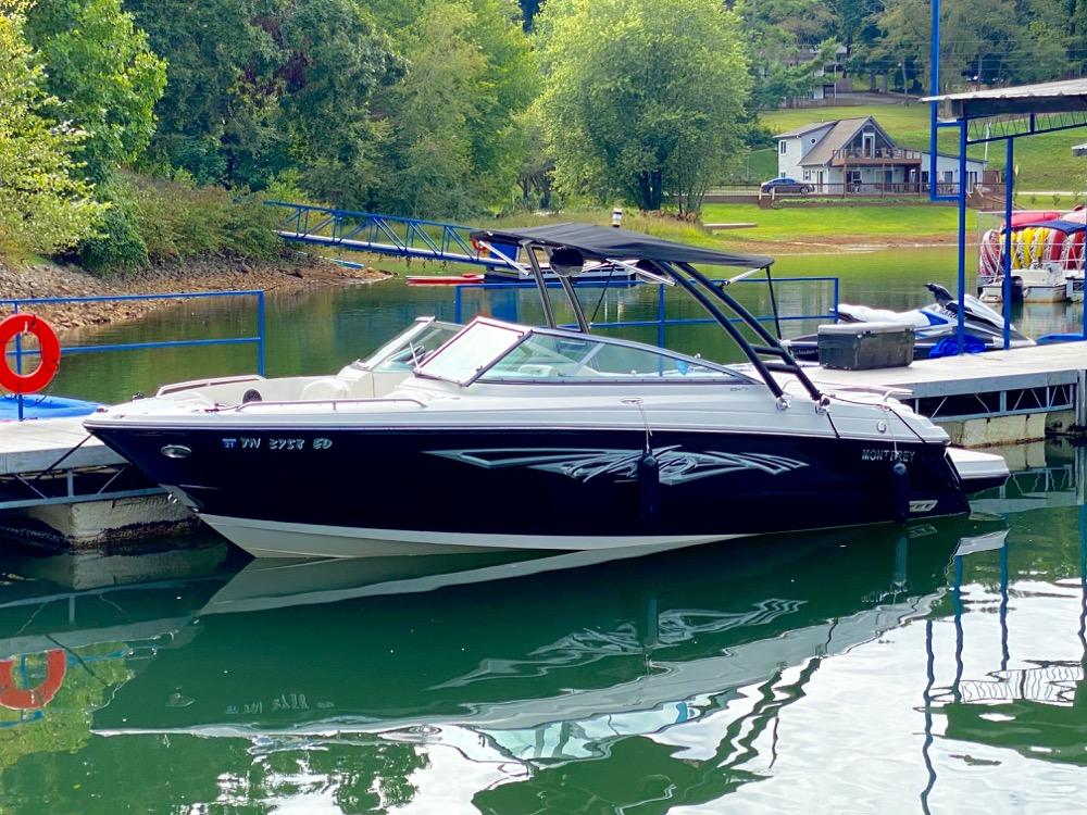 2010 Monterey ski boat for sale
